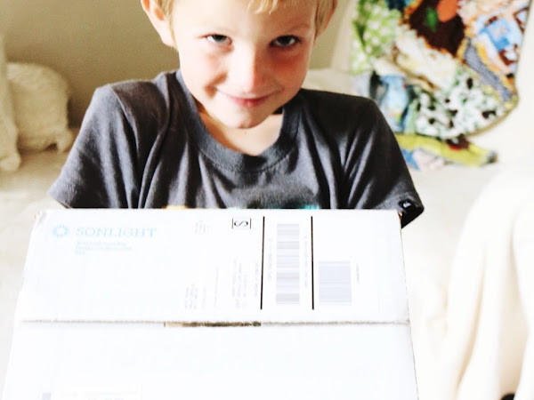 Box Day for the Youngest Child | Unpacking Sonlight A Upgrades