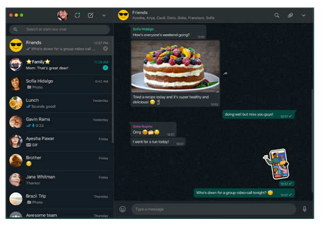 WhatsApp Rolls Out Dark Mode To Desktop And The Web