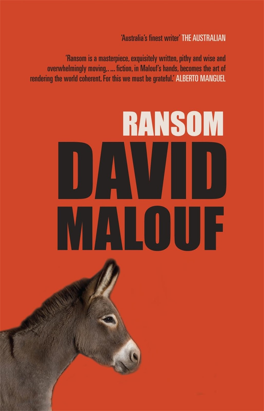 ransom by david malouf class notes Insight text guide yvonne smith ransom david malouf c o n t e n t s character map iv overview 1 about the author 1 reading malouf s work: sound and meaning 2 synopsis 3 character summaries 4 background.