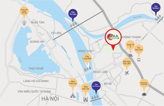 Vị trí Khai Sơn City