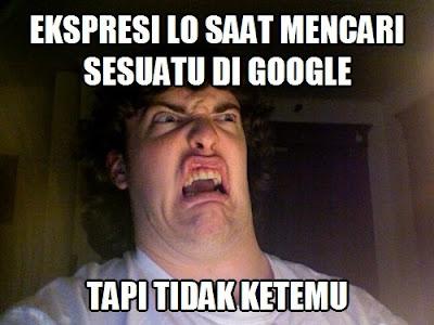 Meme Lucu Mesin Pencari Google