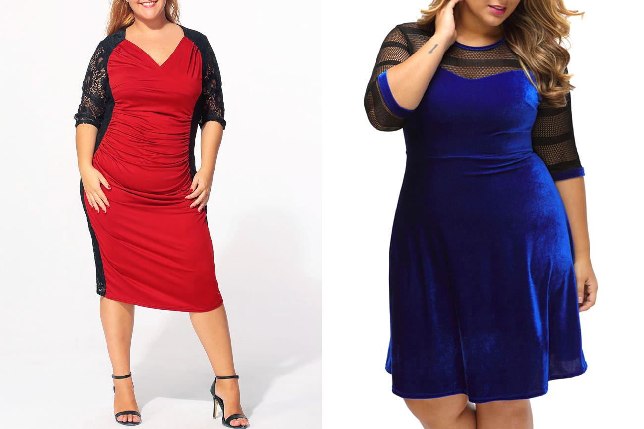 Vestidos Plus Size Sensuais