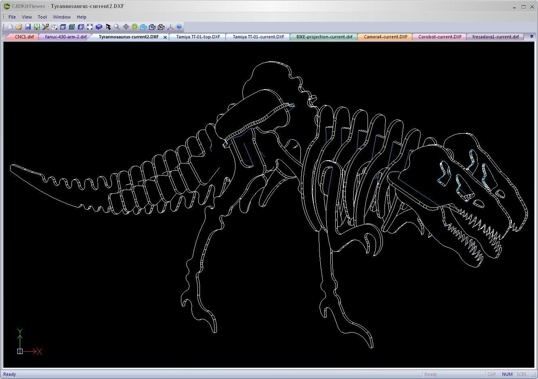 Sample DXF files | CADKit - Get inside the CAD