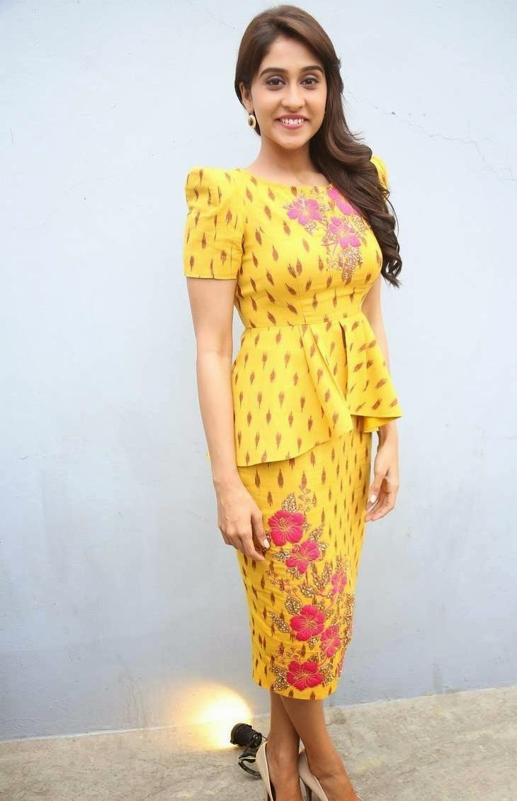 Regina Beautiful Photos In Yellow Dress