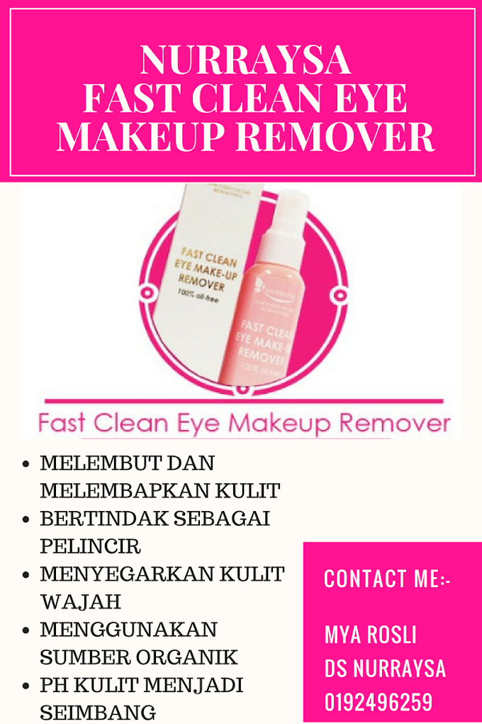 Nurraysa Fast Clean Eye Makeup Remover