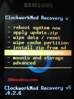 Cara Backup Dan Restore Hp Android