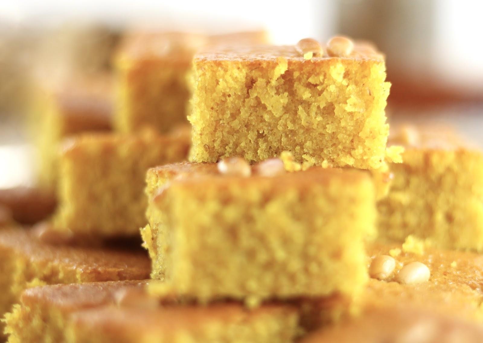 Sfouf - libanesischer Grießkuchen - so einfach und so lecker!