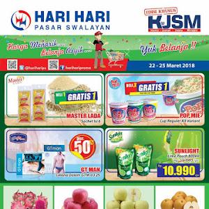 Katalog Promo Hari Hari Swalayan Weekend 22 - 25 Maret 2018