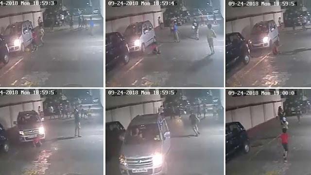 जब बच्चे के ऊपर महिला ने चढ़ा दी कार, फिर क्या हुआ देखें वायरल VIDEO