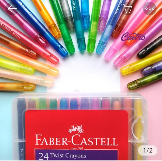 pensil warna faber castell