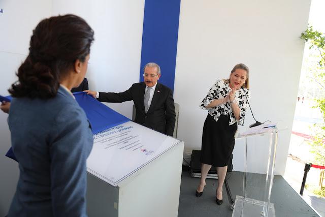 Presidente Danilo Medina y primera dama Cándida Montilla entregan RESIDE, centro que reinsertará a ciudadanos con alguna enfermedad mental
