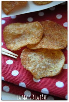 recette Chips maison saveur barbecue