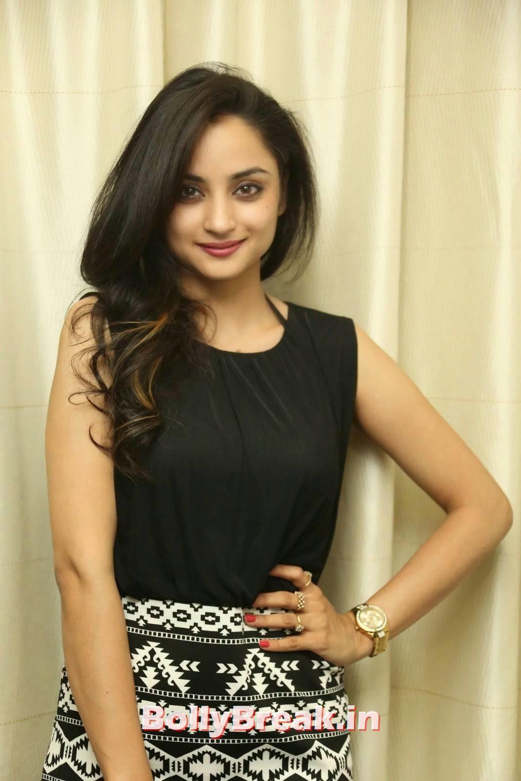 Madirakshi Stills, Actress Madirakshi Hot Pics in Skirt & Black Top