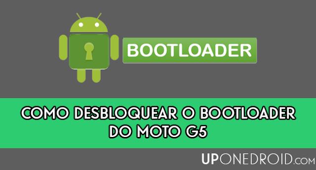 Como desbloquear o bootloader do Moto G5 / Moto G5 Plus
