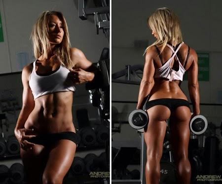 Dieta de volumen muscular para mujer