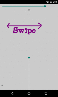 SeekBar Swipe Control ~ CoderConsole