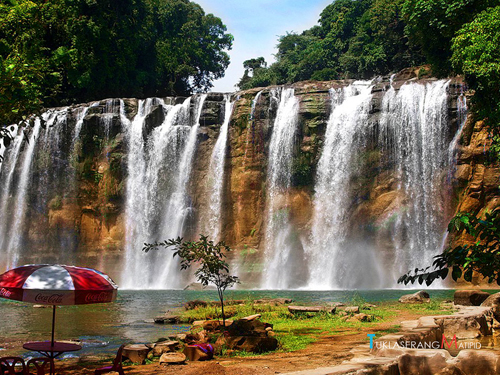 Tinuy-an falls, Philippines, tourism, travel, backpacking