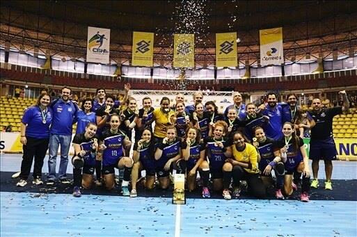 Pinheiros campeón liga nacional femenina