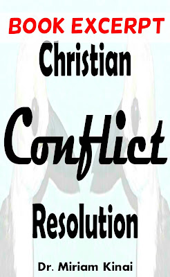 Christian conflict resolution book
