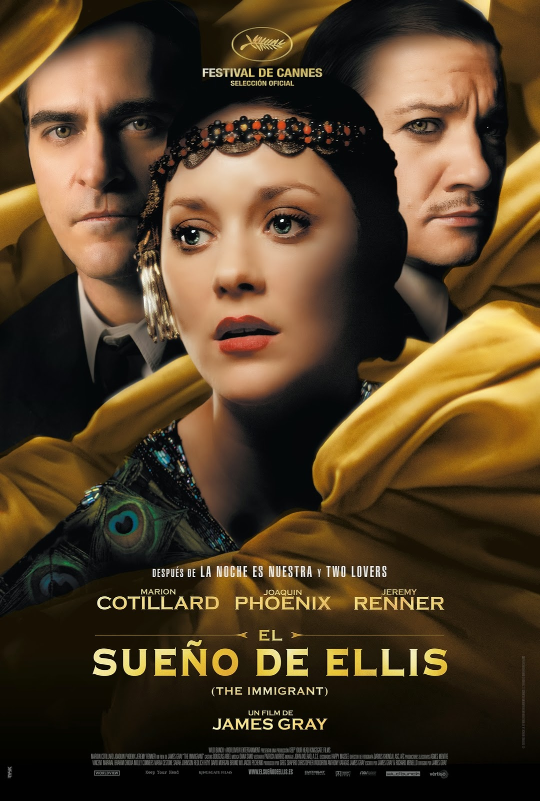 El sueño de Ellis (The Immigrant)