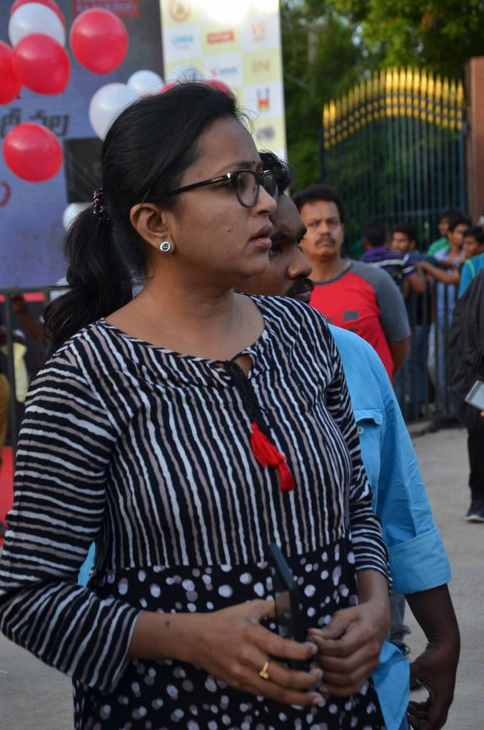 Suma In Black Dress At Anti Drug Walk Campaign
