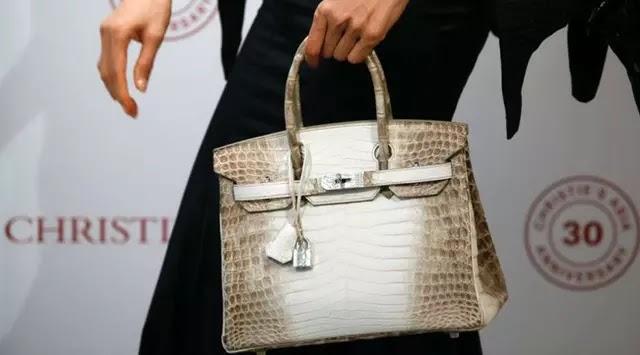 Baru-baru ini tas Hermes memecahkan rekor terbaru sebagai tas termahal. Tas  tangan itu berbahan kulit buaya 9729f1818e