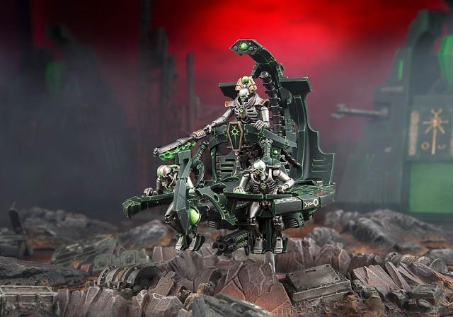 Plataforma Mando Necron