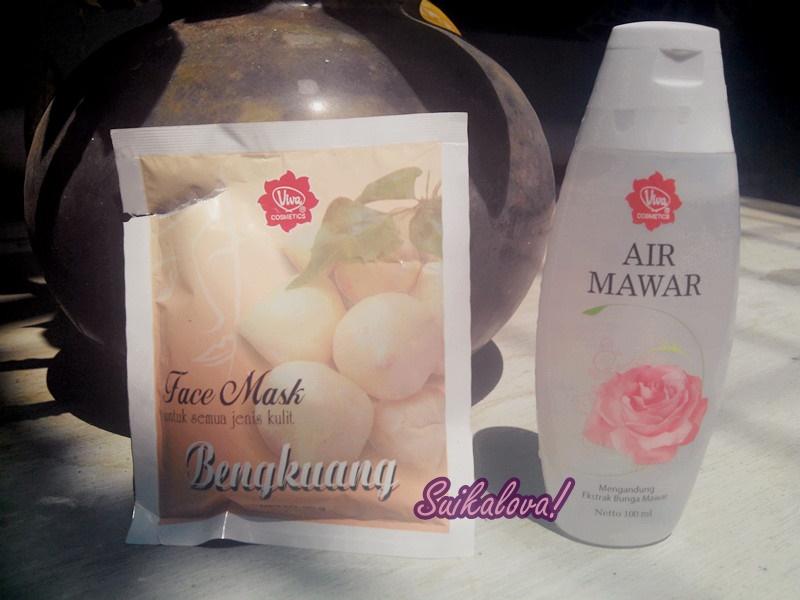 Review Viva Face Mask Bengkuang Dan Viva Air Mawar