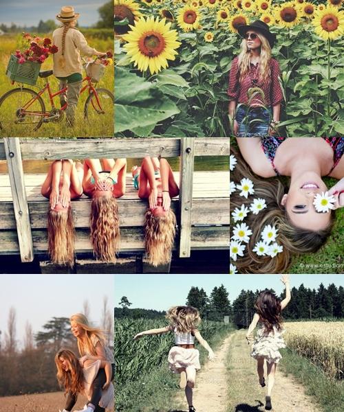 Inspiração: Fotos no Campo