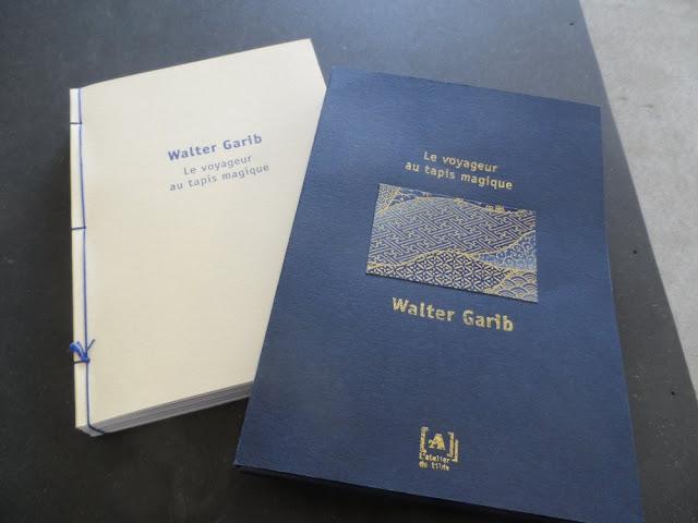 Le Voyageur au tapis magique de Walter Garib