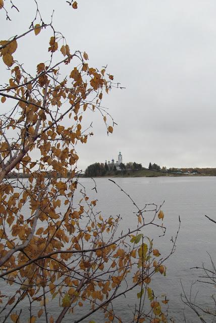 река Кубена осенью