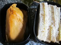 Moi-Moi and Bread