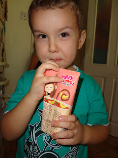 Big Boy with Happy Monkey Smoothie