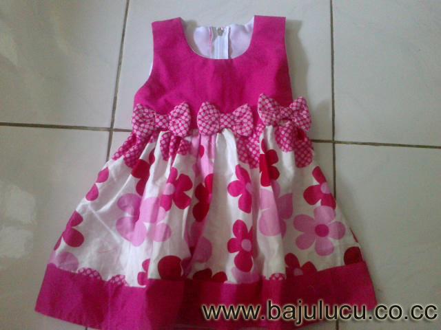 Baju Anak Lucu Dress Anak Flower Fruit