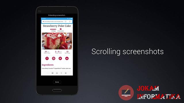Cara Screenshoot Layar Panjang Untuk Semua Jenis HP Xiaomi Tanpa Aplikasi Lengkap - JOKAM INFORMATIKA