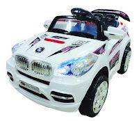 Mobil Mainan Aki Pliko PK9800N BMW X5 2 Dinamo dengan Kendali Jauh