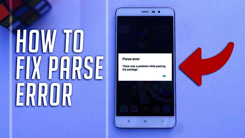 parse error apk android box