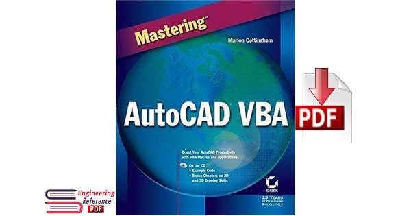Mastering AutoCAD VBA by Marion Cottingham