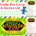 Sweet Kids - Sour Patch Kids Box Cover + Service List - Serving Others