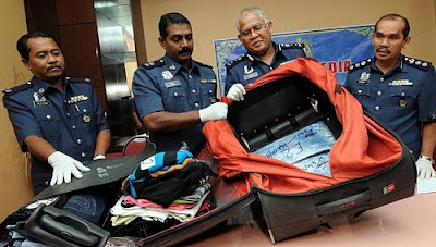 Malaysia airport drug bust
