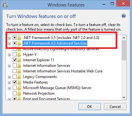 Cara install .Net Framework di Windows