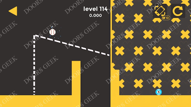 Ball & Ball Level 114 Solution, Walkthrough, Cheats for android and ios