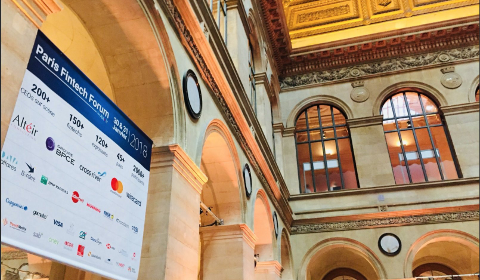 Paris FinTech Forum 2018 - Palais Brongniart