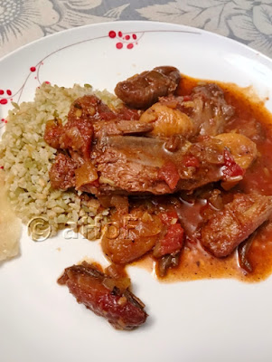 Moroccan Style Lamb Shanks off the bone
