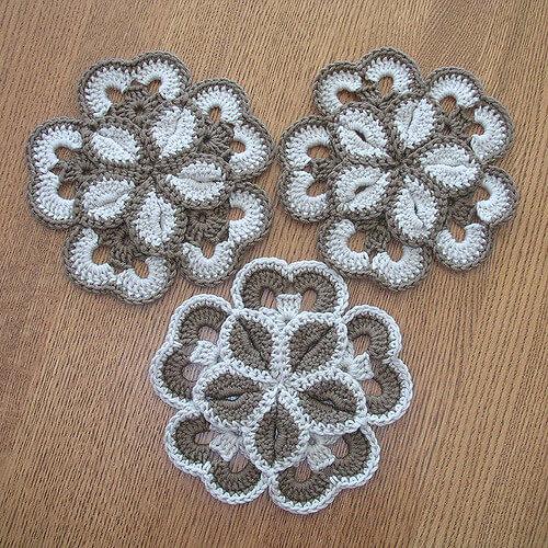 Flowers Crochet Pattern Uk Easy Model Download Free