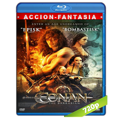 Conan El Barbaro (2011) BRRip 720p Audio Trial Latino-Castellano-Ingles 5.1