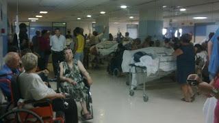 urgencias, colapso, pacientes, enfermos, sanidad