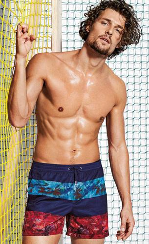 bañadores para hombre de Calzedonia coleccion verano 2016