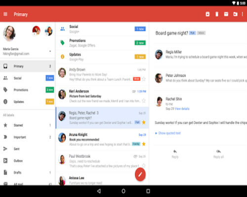Gmail-service by Google-500x400