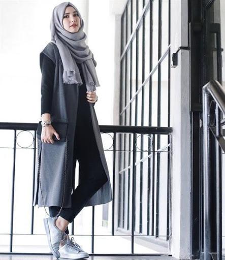 Trend model busana hijab casual remaja terbaru 2017 2018 Fashion dan style remaja